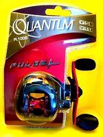 🌟 Quantum Pulse Blue Fishing Reel Bearings Gear Ratio  #PL100S 🌟