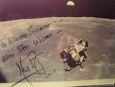 NEIL ARMSTRONG APOLLO 11 AMAZING COLLECTOR'S AUTO PHOTO RARE GEM !