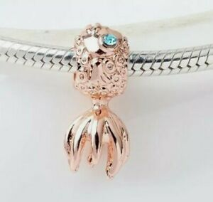 Rose Gold Gold Fish European Dangle Charm Bead!!