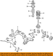 FORD OEM Stabilizer Sway Bar-Front-Bushings 9L8Z5484A