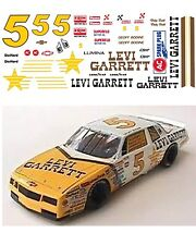 #5 Levi Garrett 1986 1/64 scale decal AFX Tyco Lifelike Autoworld