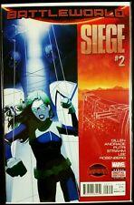 SIEGE, Secret Wars #2 Battleworld (2015 MARVEL Comics) NM - Comic Book