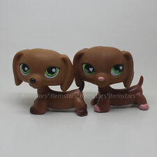 Littlest Pet Shop LPS Toys #556 #139 Dachshund Dog