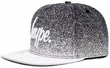 Hype Black Mono Speckle Fade Script Snapback Cap/Hat