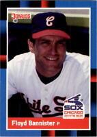 1988 Floyd Bannister Donruss Baseball Card #383