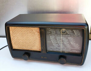 Mende Typ 225W Bakelit Röhrenradio 50er?Jahre Nordmende Bremen mit Teil Funktion