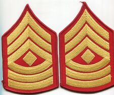 USMC MARINE CORPS FIRST SERGEANT  DRESS BLUES STRIPES RANK