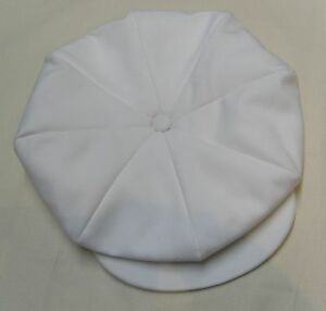 CASQUETTE ANCIENNE  RETRO SPORT TITANIC blanche * IRLANDAISE MARSEILLAISE CAP