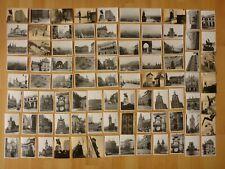 Konvolut alte Fotos: 87 x altes Foto vmtl. meist Prag und Burg Karlstein