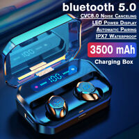 TWS Kopfhörer bluetooth 5.0 In-Ear Ohrhörer Headset LED Ladebox Touch Control