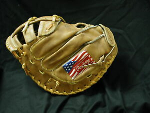 """Rawlings XCMS 34"""" Heritage Series Catcher Mitt 5 years old never used New!"""