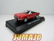 LUX10 voiture 1/43 AMERICAN CLASSICS : 1/2 FORD MUSTANG 1964 Rouge