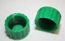 New 100 Plastic Garden Hose End Caps Hose Terminators rubber washer NH Thread