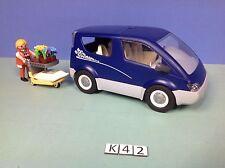 (K42) playmobil voiture espace fleuriste ref 4483