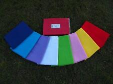 2 x  BABY  WRAPS   Extra Large,  8 Bright Colours, NEW, 1m x 1.4m