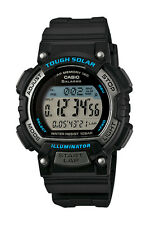 Casio STLS300H-1A Women's Solar Runner's Countdown Timer 5 Alarm Chrono Watch