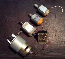 Lot Of 6 Small Electric Motors For Hobby Or Repair At Home Or Industrial Use