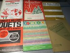 Vintage Lot of Music Instruction Books Trumpet + Song Books Sheet Music