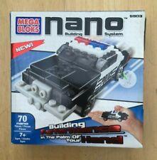 MIB MEGA BLOKS NANO BUILDING SYSTEM 5903 POLICE CAR 2004 New!