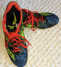 Saucony Shay XC4 Men's Racing Spike Track Cross Country Shoe Size 9 good cond.