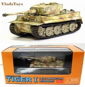 Dragon Armor 1/72 Sd.Kfz.181 Tiger Tank #4 German Army 1./sPzAbt 506 #62002