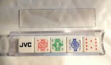 JVC Japan Victor Company / Poker dice game / Jeu de poker d'as / publicity dice
