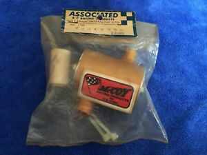 Vintage McCOY Can Muffler 1/8 Associated RC300 Delta