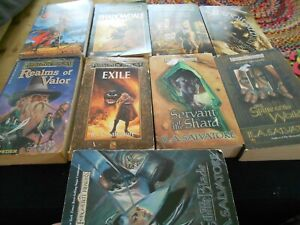 9 x Forgotten Realms - BULK LOT OF MIXED BOOKS