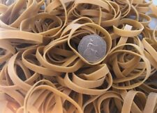 """40 x Thick 2.25"""" Strong Rubber Elastic Bands 60mm x 6mm Heavy Duty No.62"""