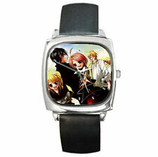 Sumomomo Momomo Ultimate Anime boys girls mens womens leather wrist watch