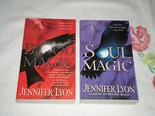BLOOD MAGIC & SOUL MAGIC by JENNIFER LYON     JA