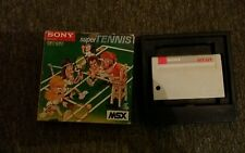 Msx game/super tennis/sony hit bit/without notice