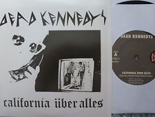 """DEAD KENNEDYS 45 RPM 7"""" - California Uber Alles 2014 RE-ISSUE"""