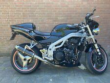 Speed Triple De Escape SP Engineering Carbono Redondo Moto GP Xls 2002 2003 2004