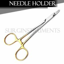 "T/C RYDER Needle Holder 5"" Tungsten Carbide Inserts"
