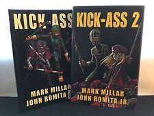 Kick Ass & Kick Ass 2 (Hardcover) – 2 Comic Books Set