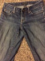 BANANA REPUBLIC Women's Jeans 29/8 PETITE Medium Wash SZ 25 X 28