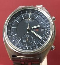 Vintage Seiko 6139  7070  - Chronograph, Authentic Gray  Dial Day Date