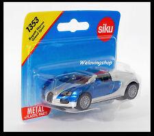 Siku 1353 EB Bugatti Veyron Grand Sport Diecast Car Gift Scale About 1/64 New