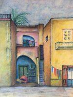 Häuser Mittelmeer Italien Capri Ischia um 1950 Anonym 29,5 x 23,5 cm