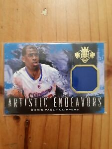 Chris Paul 2014-15 Court Kings Artistic Endeavors Jersey Card /149