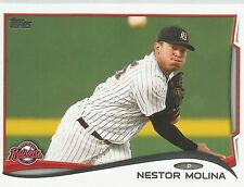 Nestor Molina White Sox 2014 Topps Pro Debut Minor League