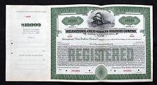 International Great Northern Railroad company series C $10,000 Bond 1933