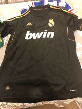 Cristiano Ronaldo Real Madrid Black Jersey Size Large