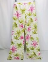 Talbots Stretch Women's Floral Silk Cotton Blend Pants Size 8 - NEW WITHOUT TAGS