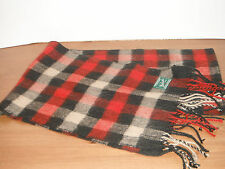 WOOLRICH SCARF ( 12 X 60 inches ) neck WRAP red PLAID