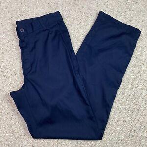 Nike Golf Mens Pants sz 30 x 32 Navy Straight Leg Lightweight Dri Fit Active