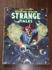 MARVEL COMICS INDEX #6 HEROES FROM STRANGE TALES DECEMBER 1977 US MAGAZINE<^