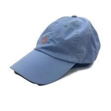 Polo Ralph Lauren Chino Hat Strapback Baseball Light Blue One Size