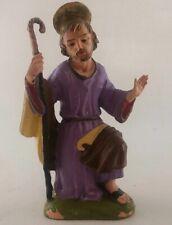 """Fontanini Depose Italy Nativity Creche Joseph 4 1/2"""" Spider Mark"""